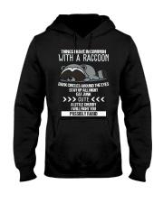 RACCOONS ARE CUTE Hooded Sweatshirt thumbnail