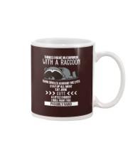 RACCOONS ARE CUTE Mug thumbnail