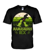 MAMASAURUS REX V-Neck T-Shirt thumbnail