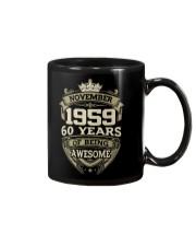HAPPY BIRTHDAY NOVEMBER 1959 Mug thumbnail