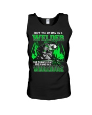 DON'T TELL MY MOM Unisex Tank thumbnail