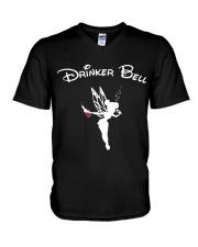 DRINKER BELL V-Neck T-Shirt thumbnail