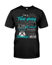 SCHNAUGER MOM Classic T-Shirt front
