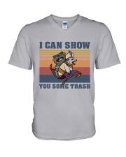 SOME TRASH  V-Neck T-Shirt thumbnail