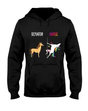 UNICORN NURSE  Hooded Sweatshirt thumbnail