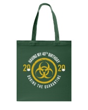 HAVING MY 40TH BIRTHDAY Tote Bag thumbnail