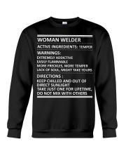 WARNINGS ABOUT WELDERS Crewneck Sweatshirt thumbnail