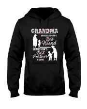 BEST FRIEND AND BEST PARTNER IN CRIME Hooded Sweatshirt thumbnail