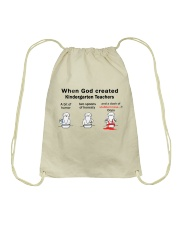 KINDERGARTEN TEACHERS Drawstring Bag thumbnail