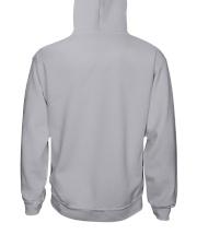 WOMAN WELDER WITH NO INSIDE VOICE Hooded Sweatshirt back