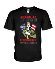 AMERICAN BY BIRTH V-Neck T-Shirt thumbnail