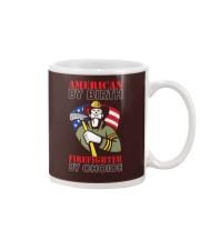 AMERICAN BY BIRTH Mug thumbnail