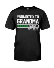 PROMOTED TO GRANDMA 2020 Classic T-Shirt front
