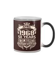 HAPPY BIRTHDAY APRIL 1968 Color Changing Mug thumbnail