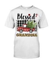 BLESSED GRANDMA Classic T-Shirt front