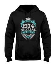 HAPPY BIRTHDAY JAN 1974 Hooded Sweatshirt tile