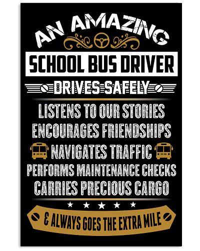 AN AMAZING SCHOOL BUS DRIVER