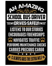 AN AMAZING SCHOOL BUS DRIVER 16x24 Poster front