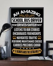 AN AMAZING SCHOOL BUS DRIVER 16x24 Poster lifestyle-poster-2