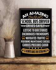 AN AMAZING SCHOOL BUS DRIVER 16x24 Poster lifestyle-poster-3