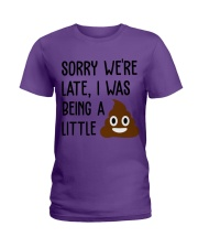 BEING A LITTLE Ladies T-Shirt thumbnail