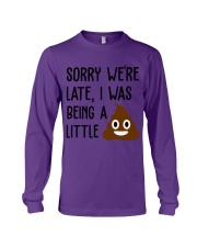BEING A LITTLE Long Sleeve Tee thumbnail