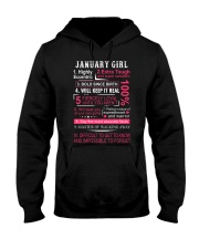 JANUARY GIRL Hooded Sweatshirt tile