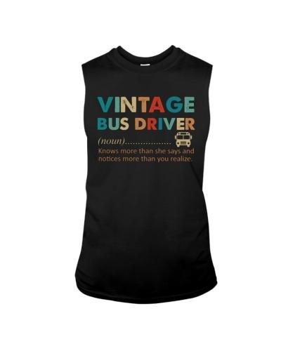 VINTAGE BUS DRIVER