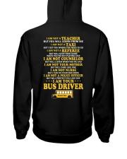 I AM YOUR BUS DRIVER Hooded Sweatshirt thumbnail