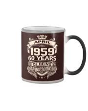 HAPPY BIRTHDAY APRIL 1959 Color Changing Mug thumbnail