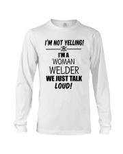 DON'T YELLING JUST TALK LOUD Long Sleeve Tee thumbnail