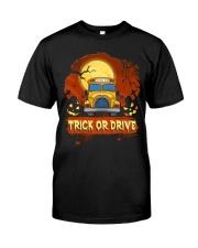 TRICK OR DRIVE BUS Classic T-Shirt thumbnail
