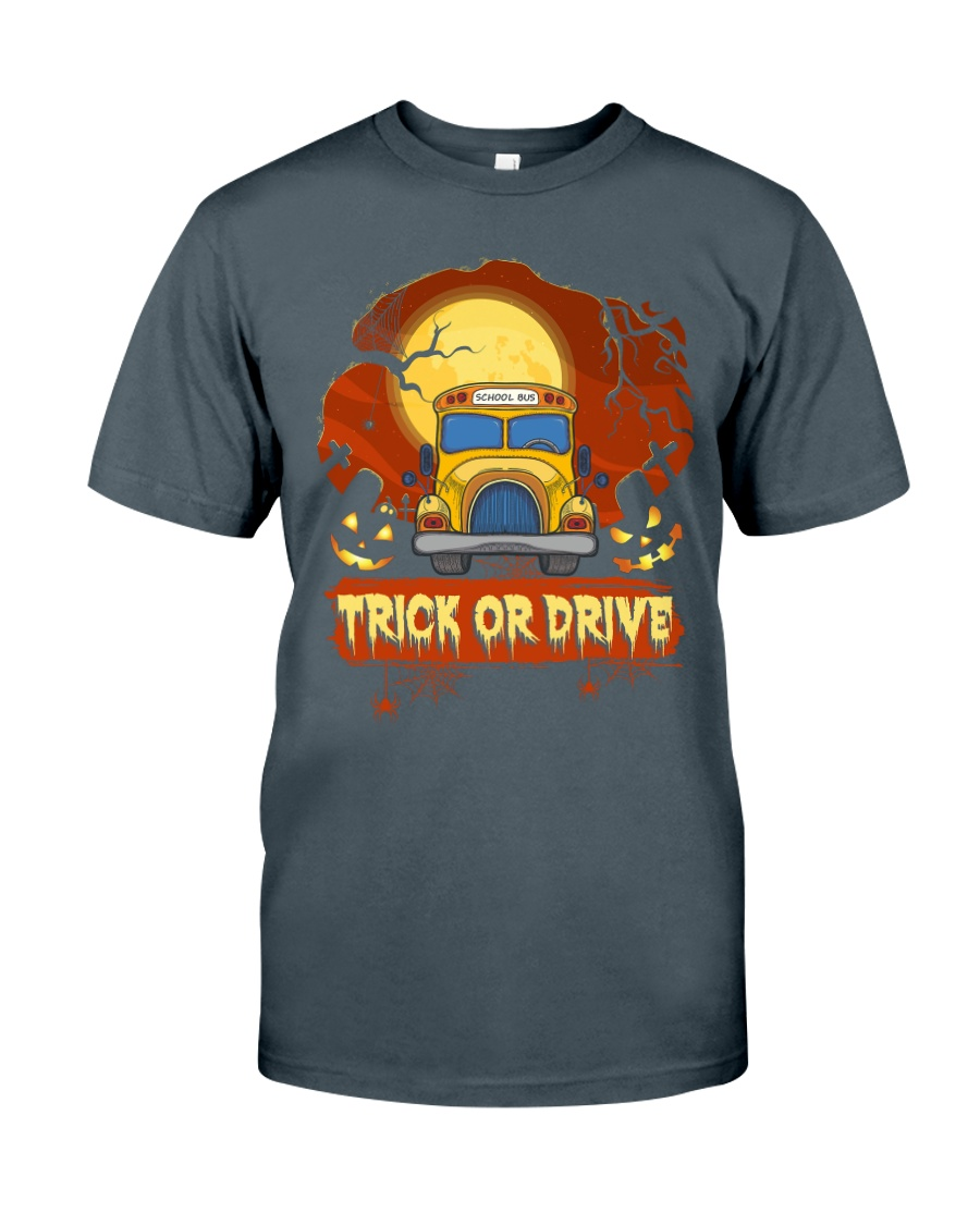 TRICK OR DRIVE BUS Classic T-Shirt