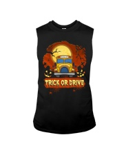 TRICK OR DRIVE BUS Sleeveless Tee thumbnail