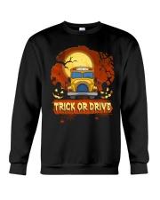 TRICK OR DRIVE BUS Crewneck Sweatshirt thumbnail