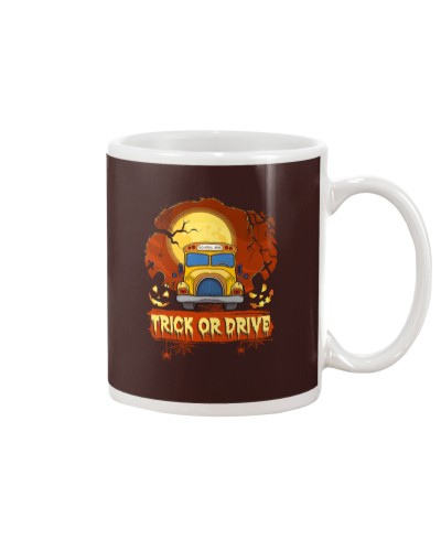TRICK OR DRIVE BUS