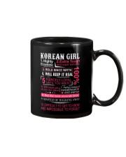 KOREAN GIRL Mug thumbnail