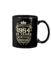 HAPPY BIRTHDAY SEPTEMBER 1954 Mug thumbnail