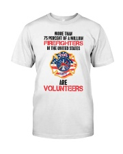 AMERICAN FIREFIGHTERS Classic T-Shirt front