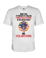 AMERICAN FIREFIGHTERS V-Neck T-Shirt thumbnail