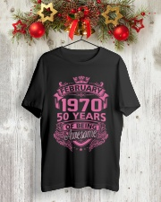 BIRTHDAY GIFT FEB 1970 Classic T-Shirt lifestyle-holiday-crewneck-front-2
