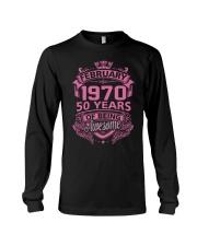 BIRTHDAY GIFT FEB 1970 Long Sleeve Tee thumbnail