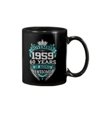 Birthday Gift November 1959 Mug thumbnail
