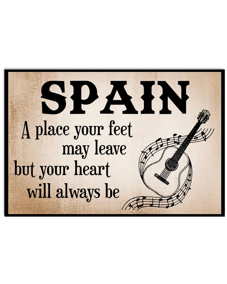 WE LOVE SPAIN 17x11 Poster