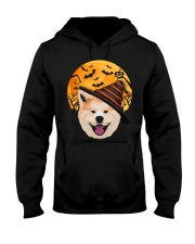 AKITA IN HALLOWEEN Hooded Sweatshirt thumbnail