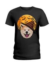 AKITA IN HALLOWEEN Ladies T-Shirt thumbnail