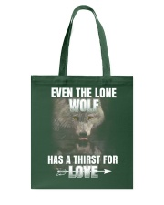 THE LONE WOLF Tote Bag thumbnail