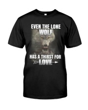 THE LONE WOLF Classic T-Shirt front
