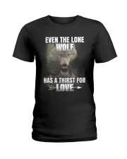 THE LONE WOLF Ladies T-Shirt thumbnail