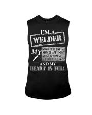 THE WELDER'S HEART IS FULL Sleeveless Tee thumbnail